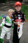 Buzz and Nascar driver