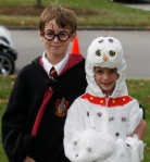 *Harry Potter and Hedwig